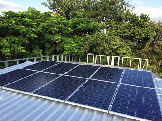 placa solar e energia